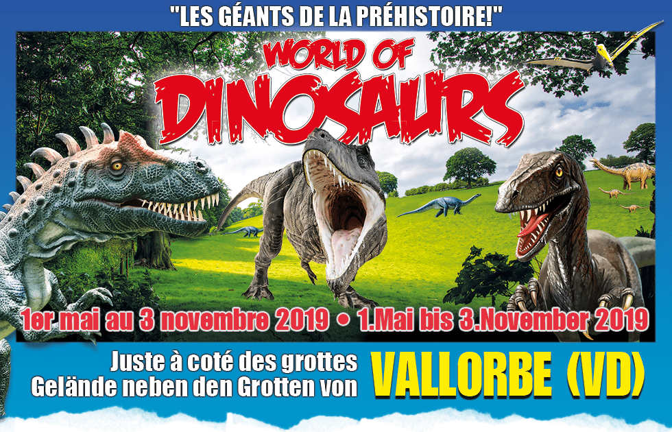 World of Dinosaurs Vallorbe